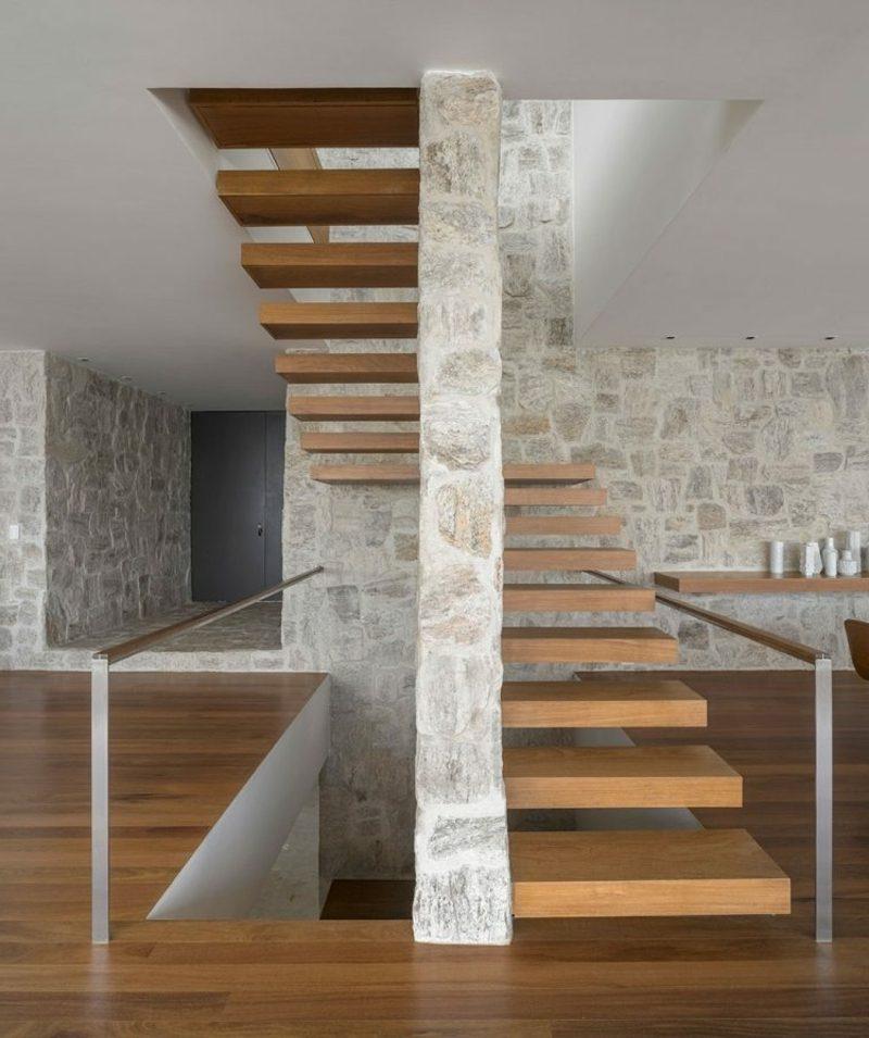 Kragarmtreppe Holz