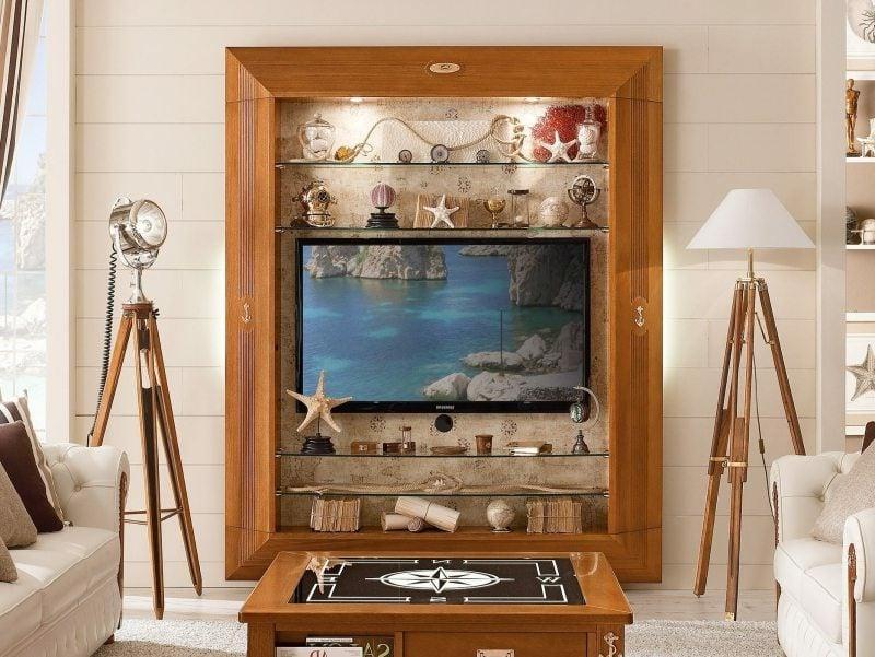 Wohnwand maritime Möbel