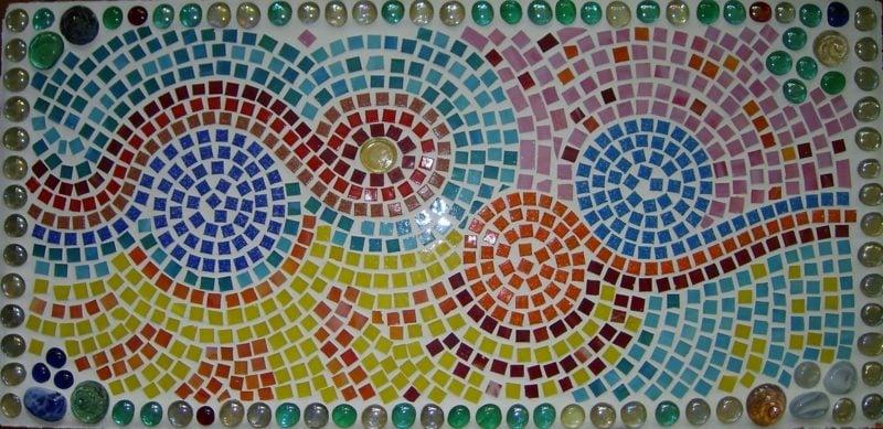 Mosaik originelles Design
