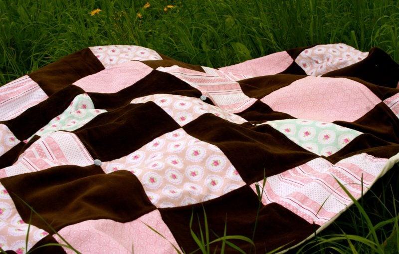 Patschworkdecke nähen für Piknik