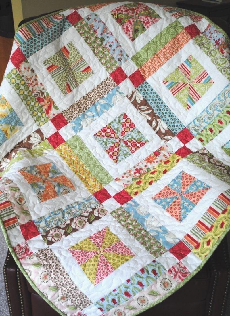 Das perfekte geschenk patchworkdecke n hen deko feiern diy zenideen - Patchwork ideen ...