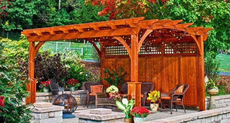 33 wunderschöne Pergolen verwandeln Ihren Garten in eien friedlichen ...