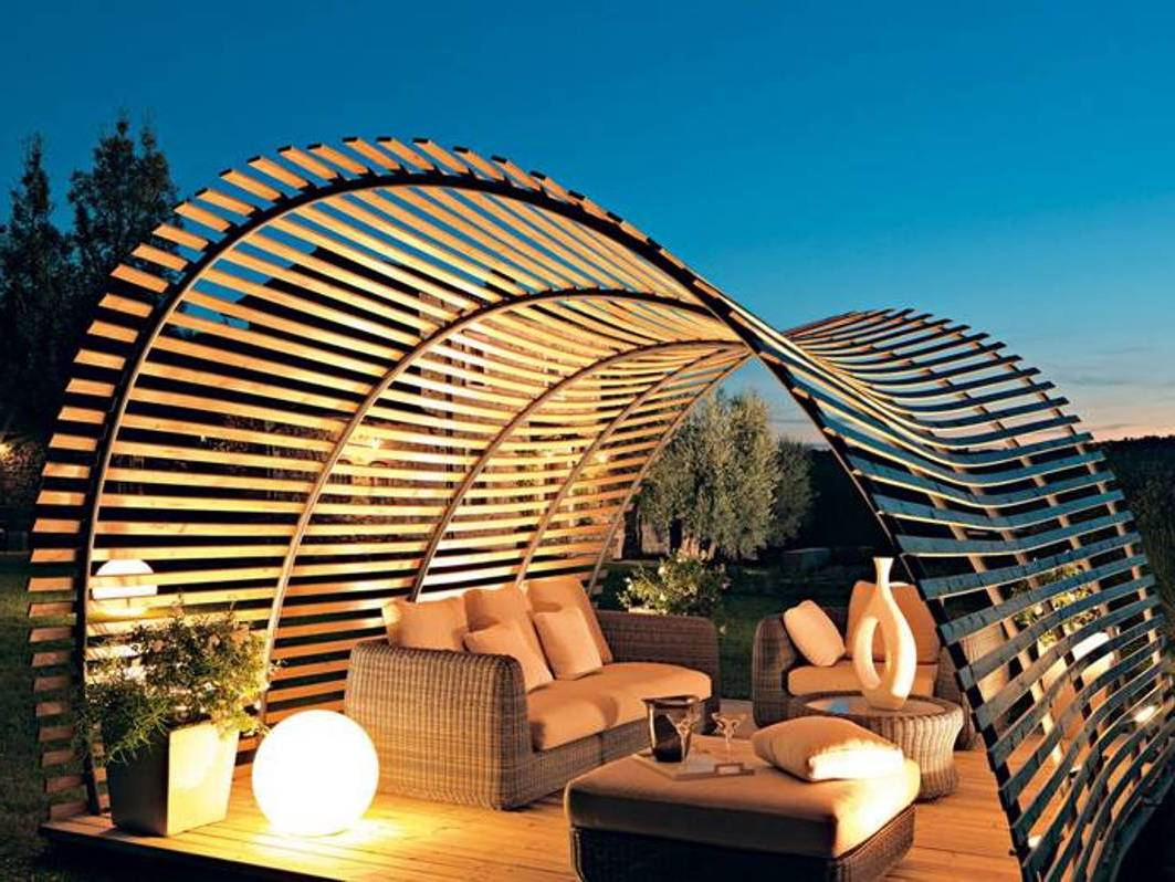 33 Wunderschöne Pergolen Verwandeln Ihren Garten In Eien ... Holz Pergola Bauen Garten