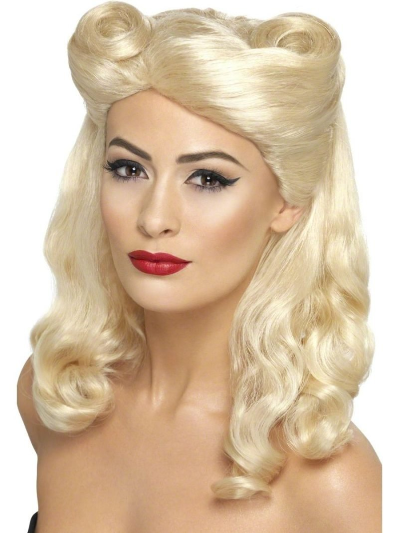 PIn Up Frisuren Victory Rolls