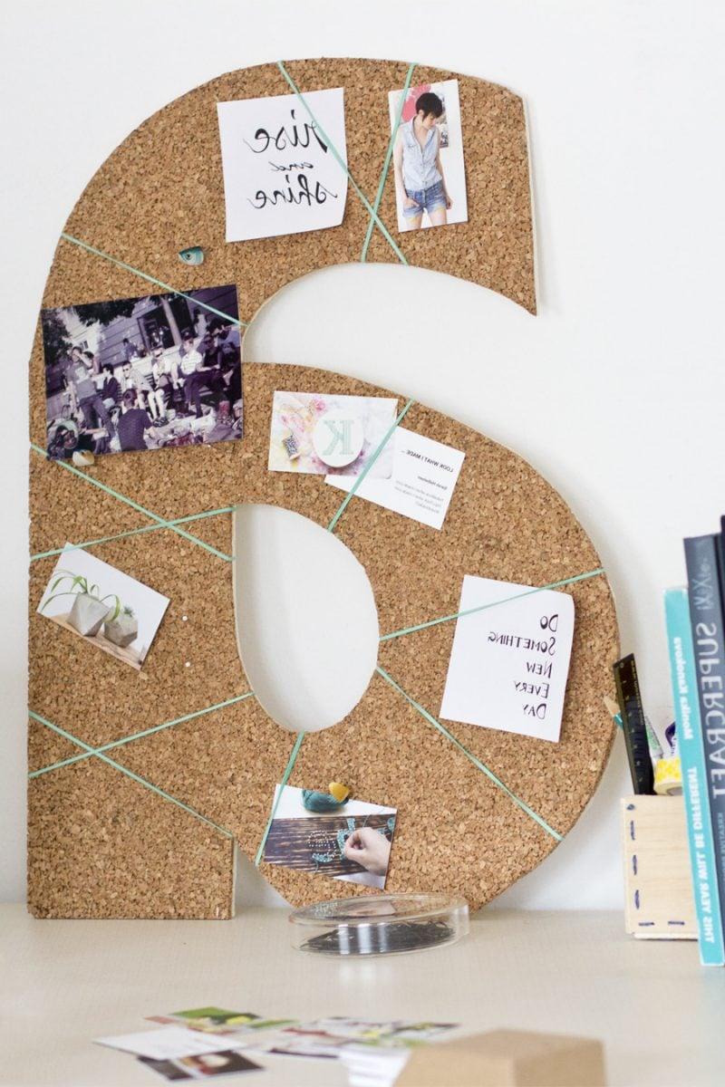 Pinnwand selber machen: 6 kreative Ideen mit Anleitungen - Deko ...