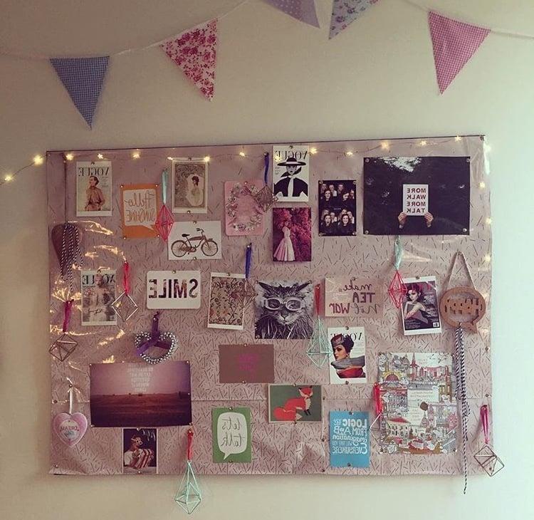 Pinnwand selber machen 6 kreative ideen mit anleitungen deko feiern diy zenideen - Beleuchtete kuchenruckwand selber bauen ...