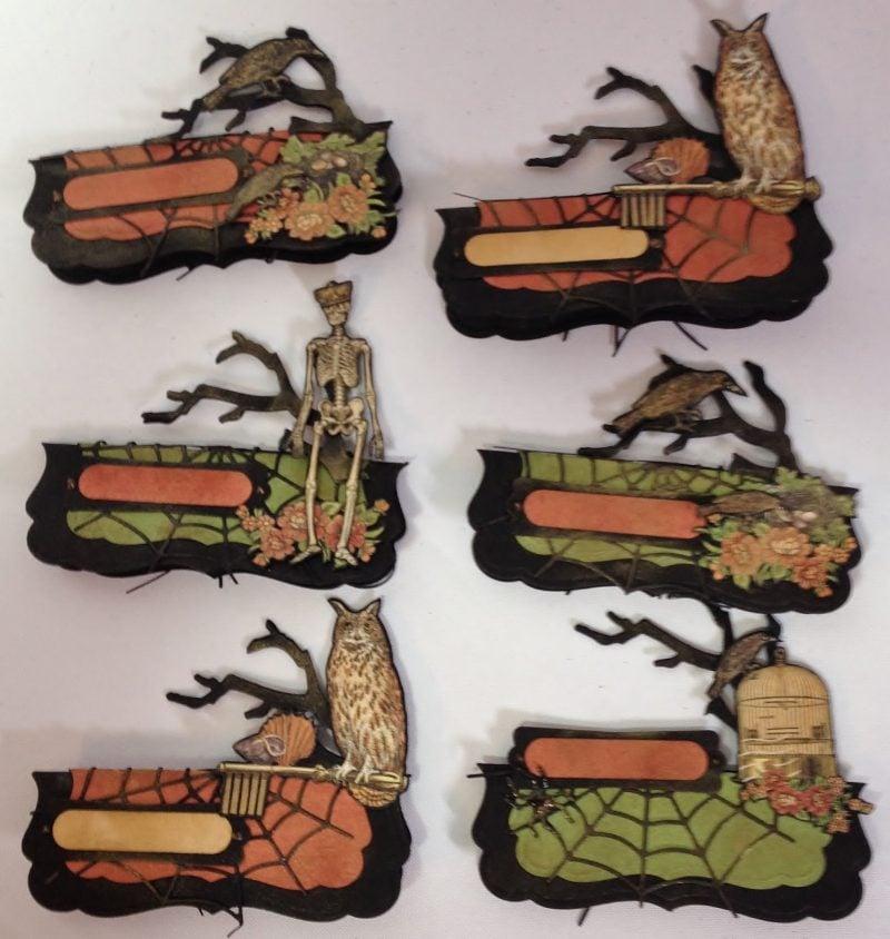 Platzkarten Halloween