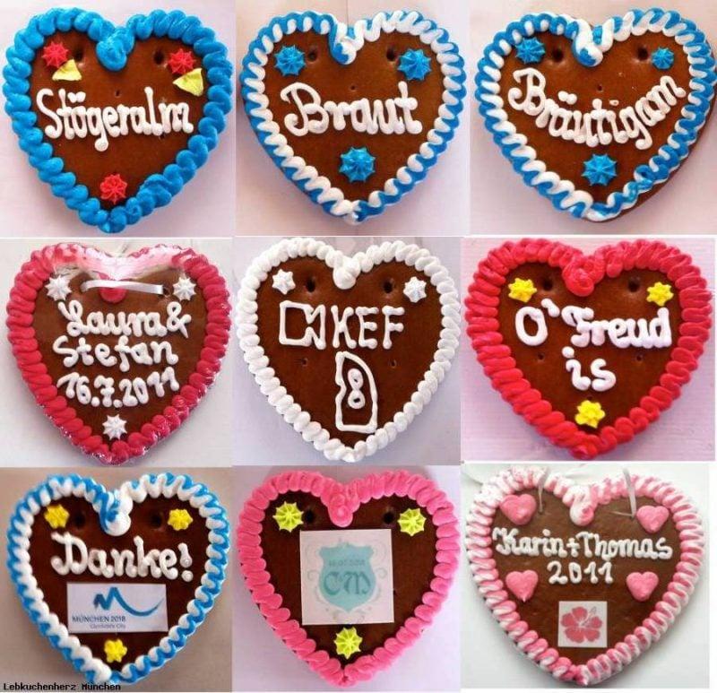 Platzkarten Kekse