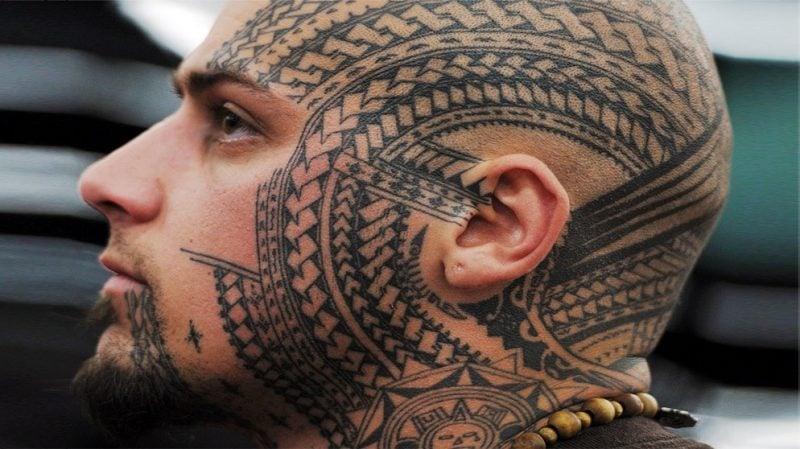 polynesische tattoos althergebracht