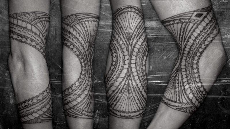 polynesische tattoos männlich