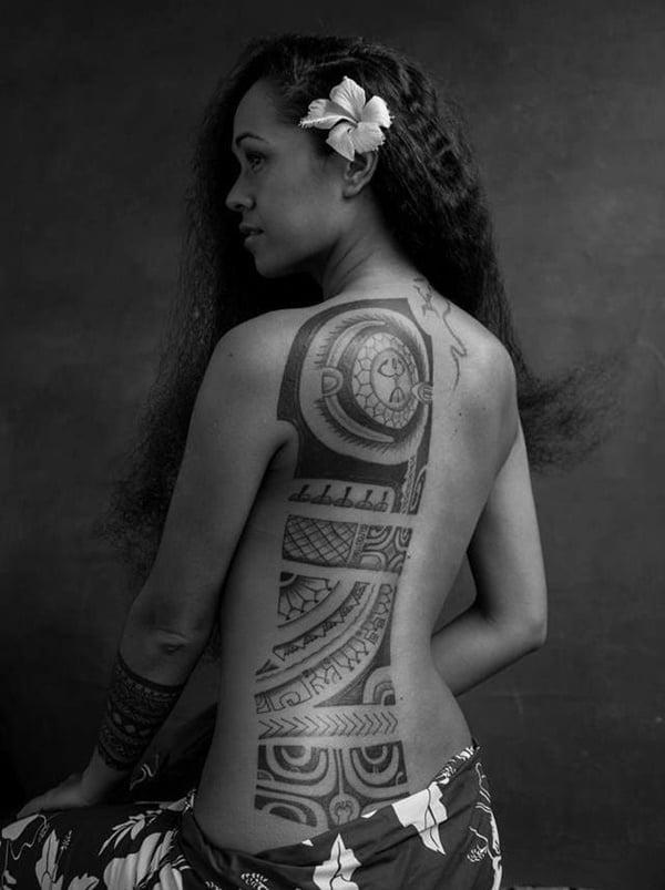 polynesische tattoos außerordentlich