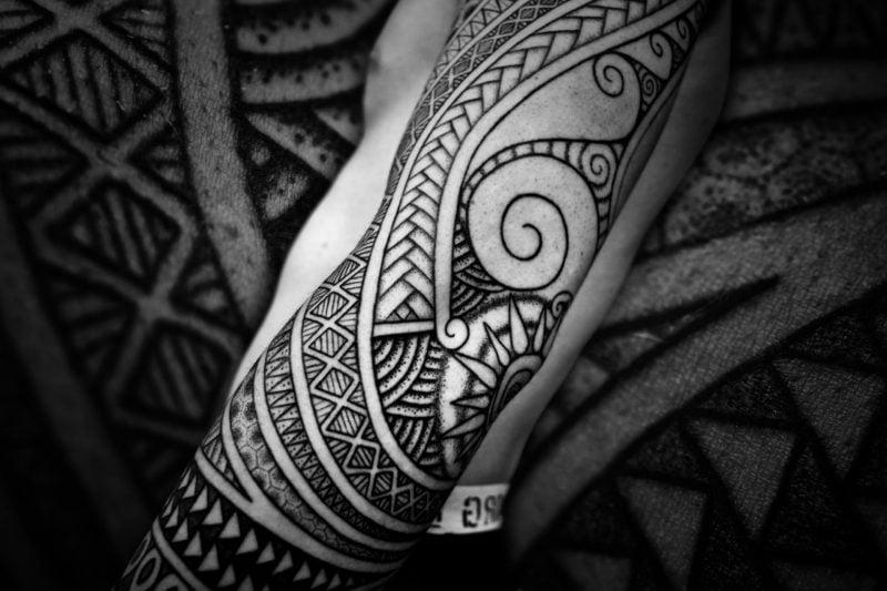 polynesische tattoos ausgefallen