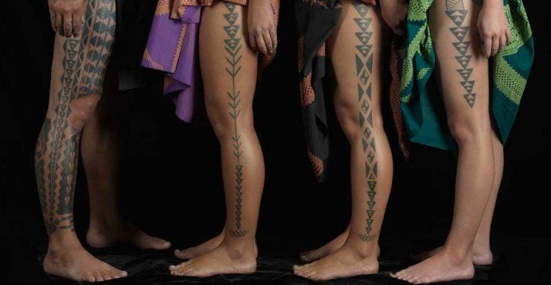 polynesische tattoos herkömmlich