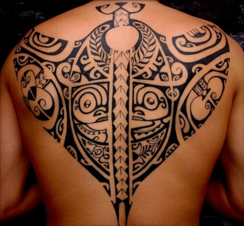polynesische tattoos interessant