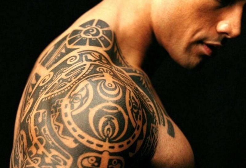 polynesische tattoos schön
