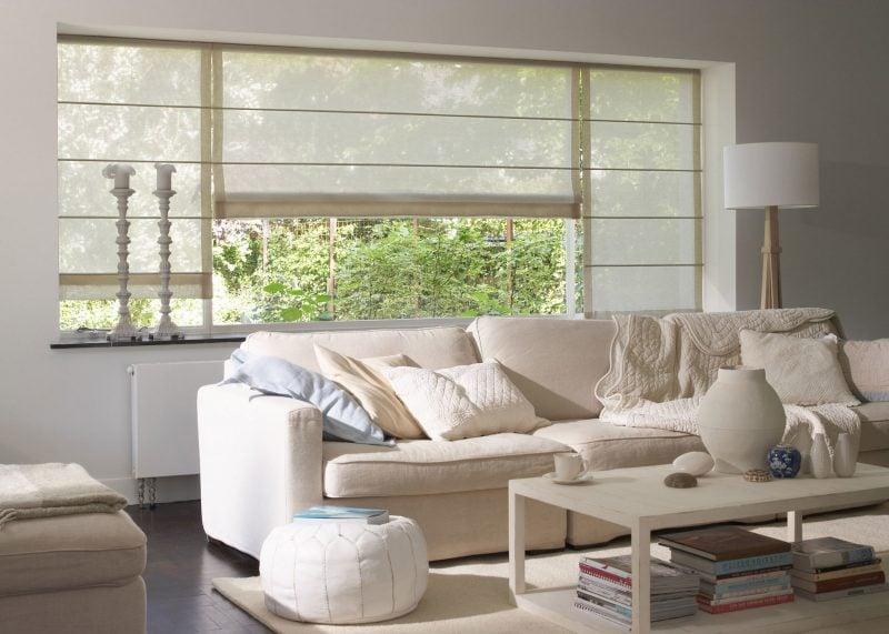 kurze anleitung zum raffrollo selber n hen deko feiern diy zenideen. Black Bedroom Furniture Sets. Home Design Ideas