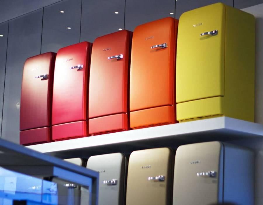 Retro Kühlschrank Anthrazit : Schöne bunter kühlschrank küchen ideen