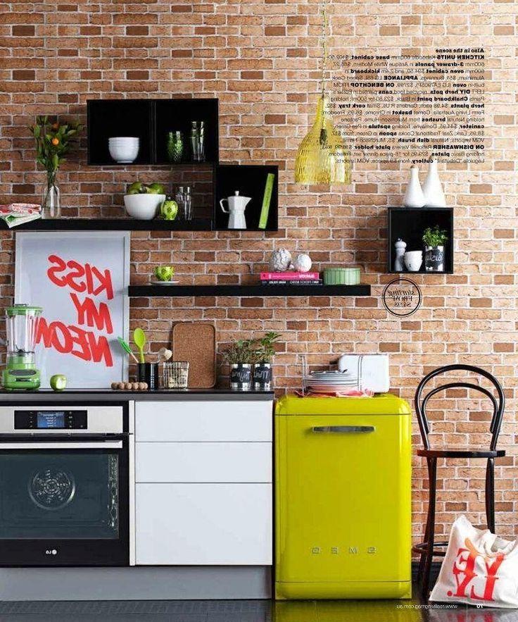 retro kühlschrank bosch gelb