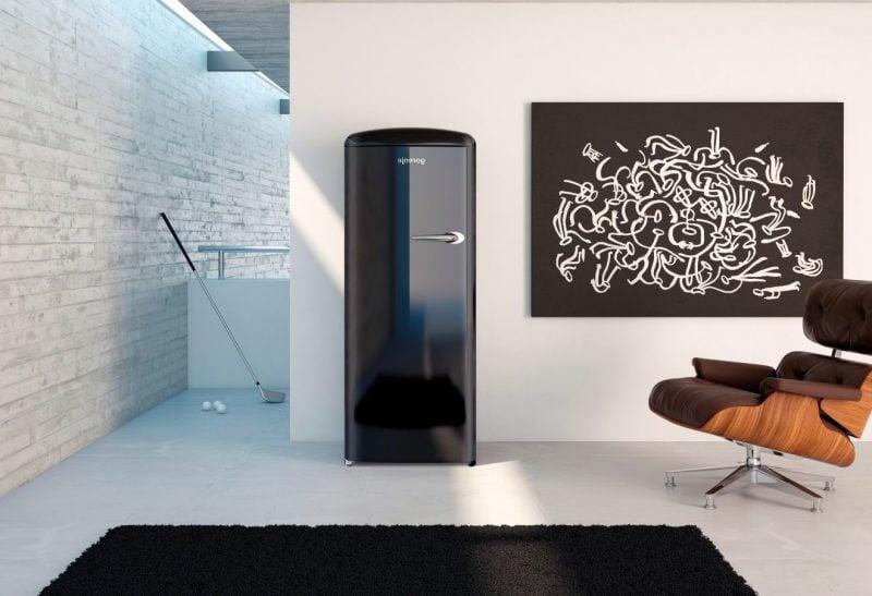 retro kühlschrank bosch schwarz