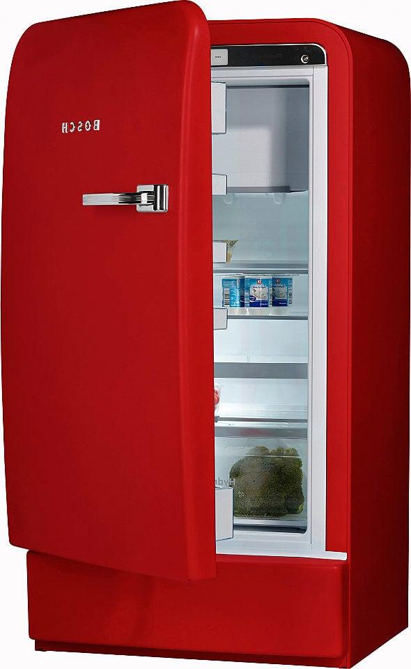 retro kühlschrank bosch rot