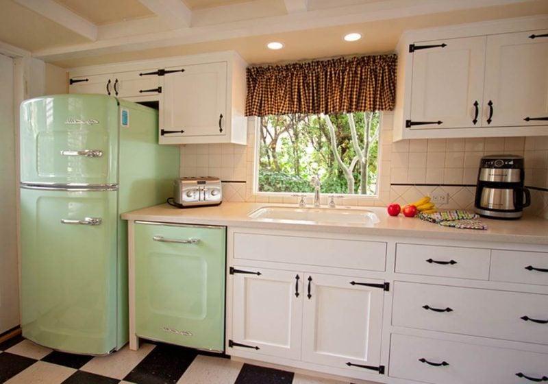 retro kühlschrank bosch grün