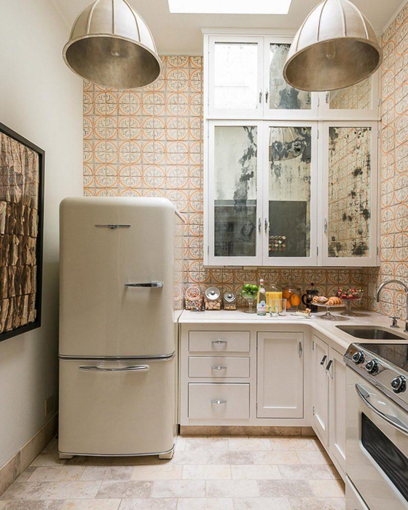retro kühlschrank bosch creme