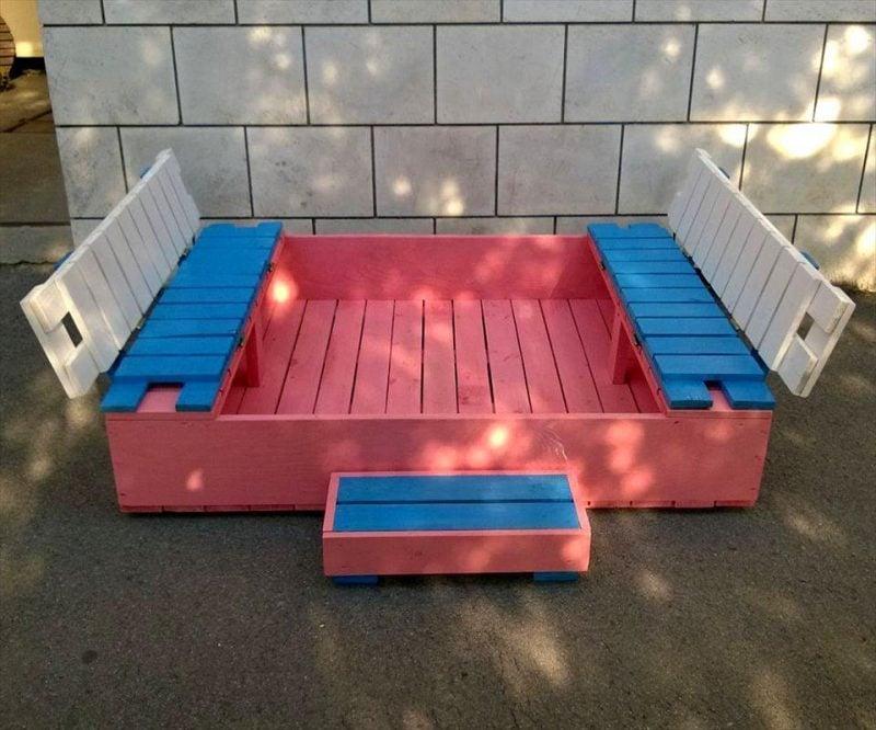 sandkasten bauen die leichteste anleitung 25 kreative ideen diy zenideen. Black Bedroom Furniture Sets. Home Design Ideas
