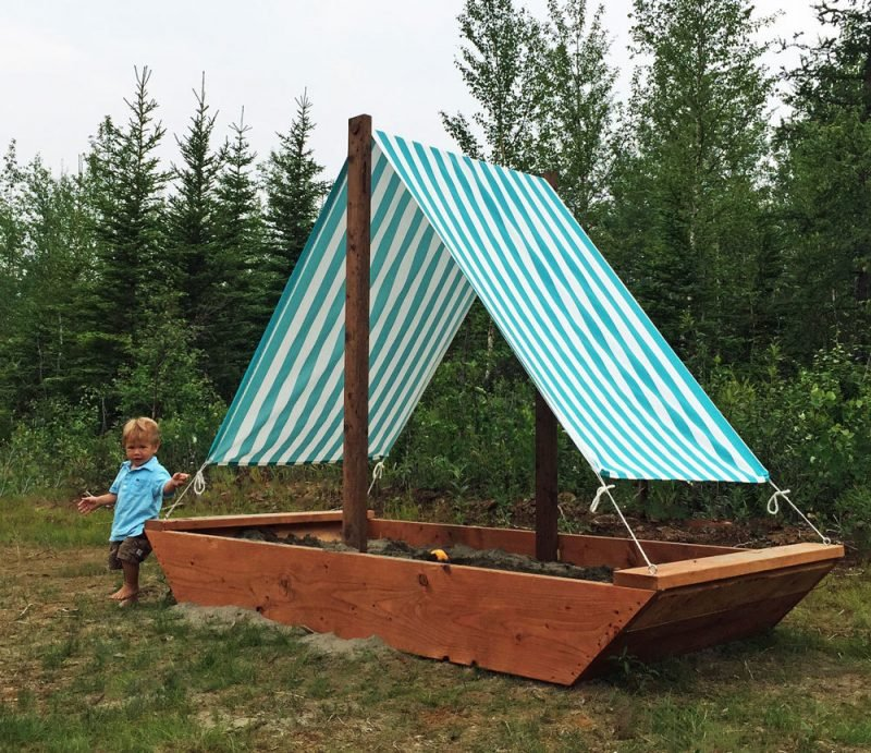 How To Make A Sandbox For Kids