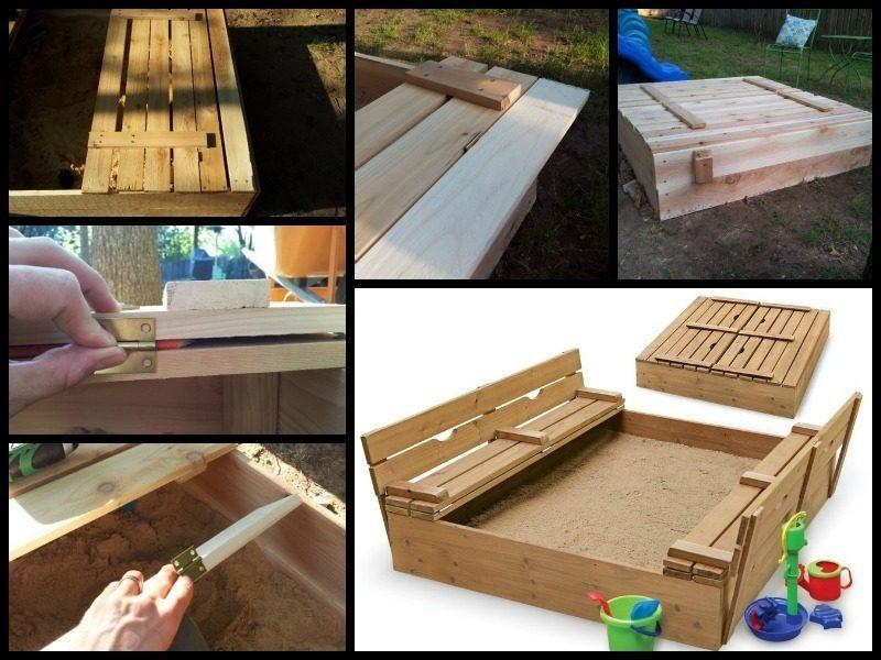 Sandkasten bauen DIY