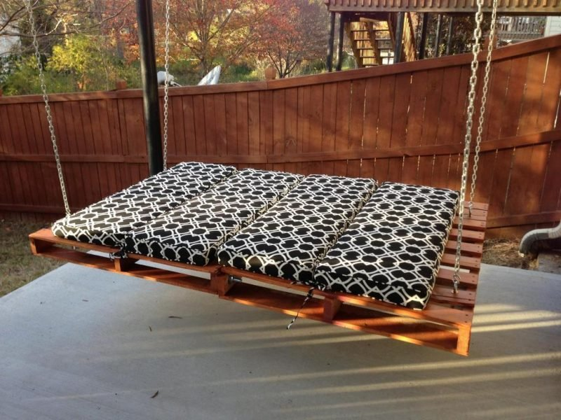 31 kreative ideen f r schaukel f r erwachsene garten. Black Bedroom Furniture Sets. Home Design Ideas