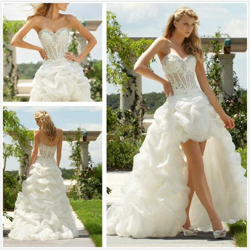 sexy brautkleid Short