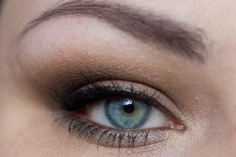 Sommertyp Make Up Blaue Augen
