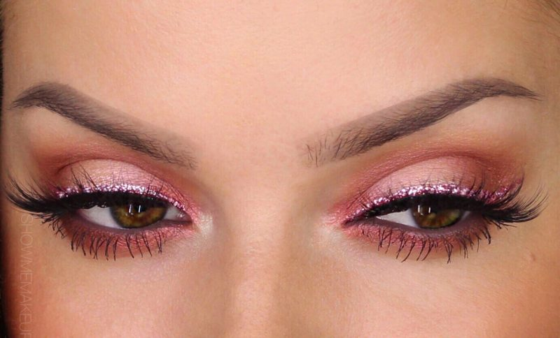 Sommertyp Augen Rosa