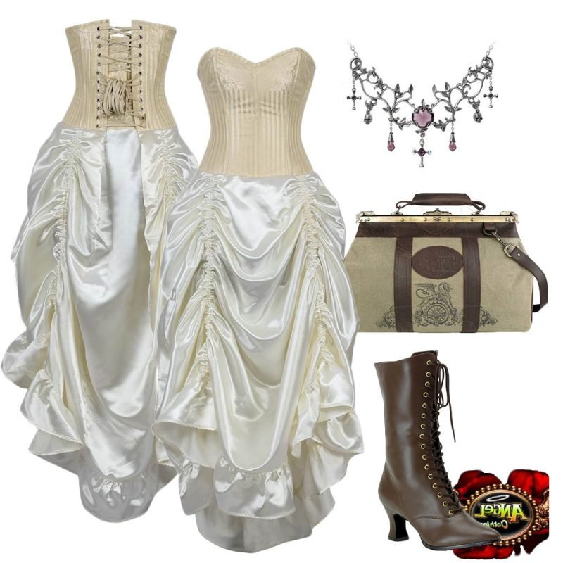 Steampunk Kleidung Engel
