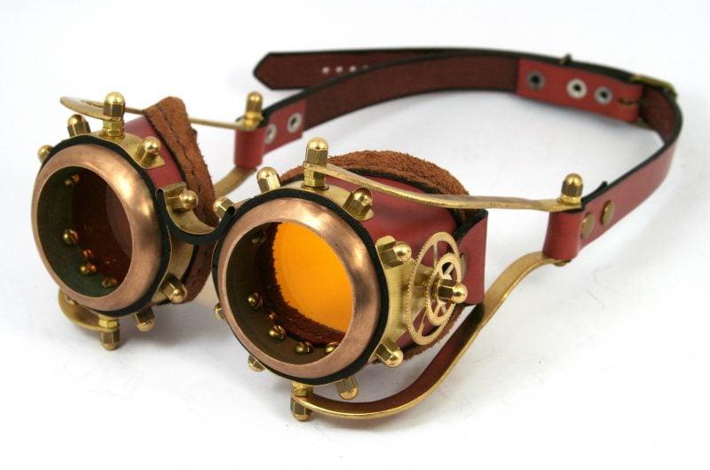 Steampunk Kleidung Brille Ideen