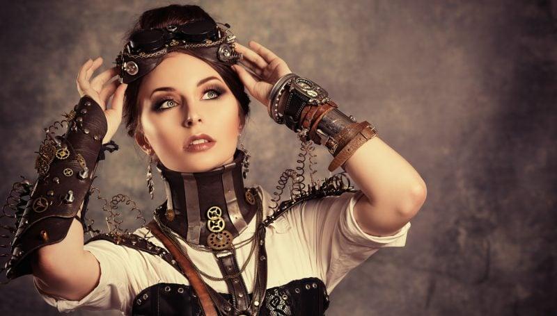 Steampunk Kleidung Damen