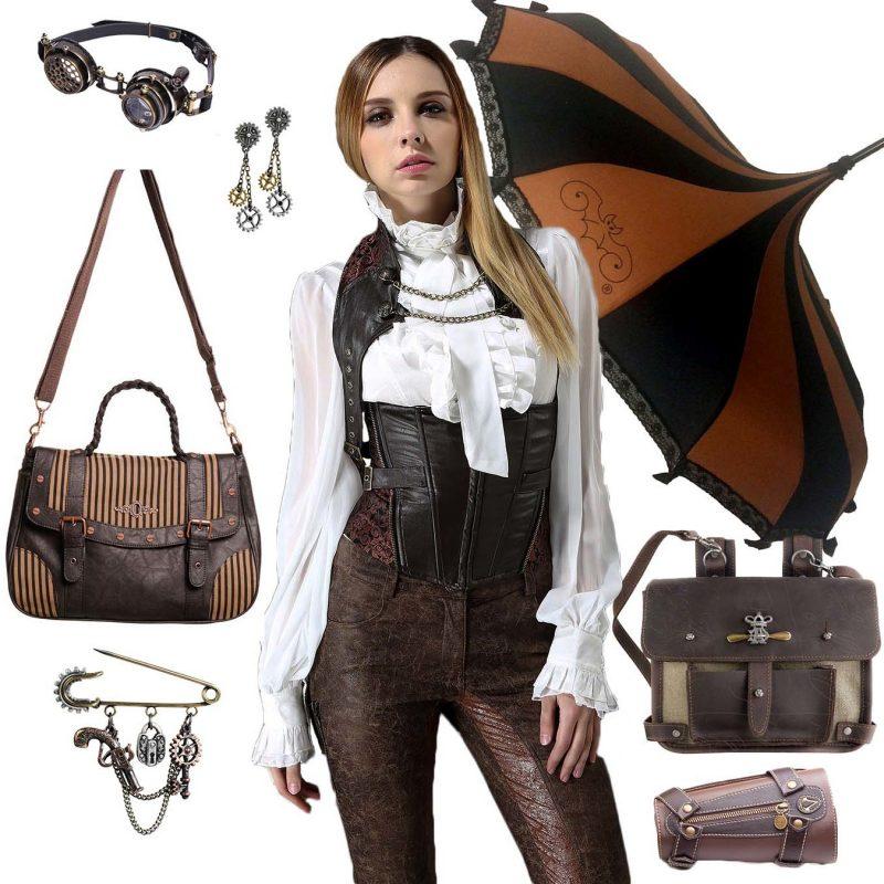 Steampunk Kleidung Damen Outfits