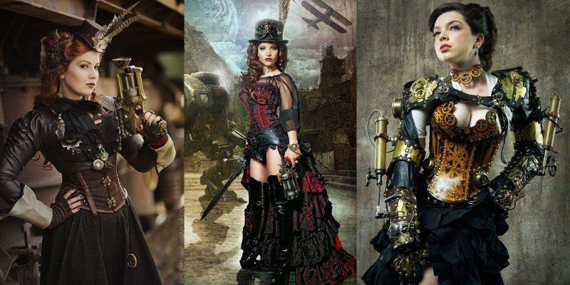 Steampunk Kleidung Frauen