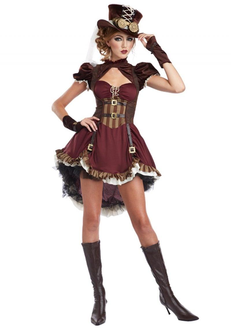 Steampunk Kleidung Frauen Kleid