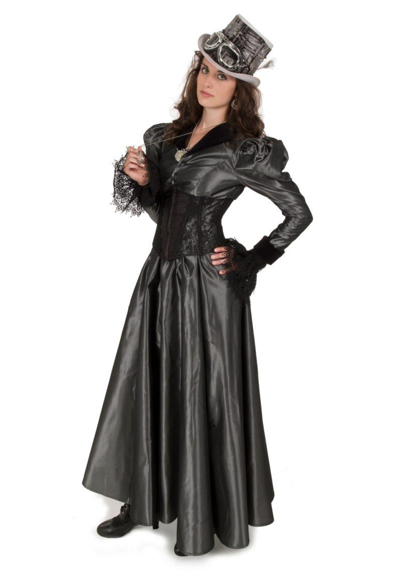 Steampunk Kleidung Frauen Leder