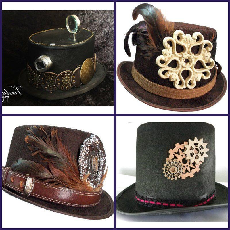 Steampunk Kleidung Hüte