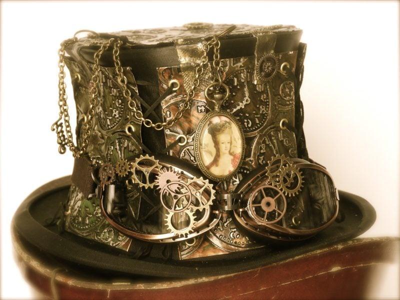 Steampunk Kleidung Hut Idee