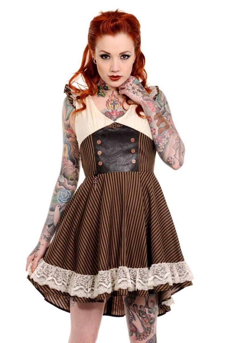 Steampunk Kleidung Kleider