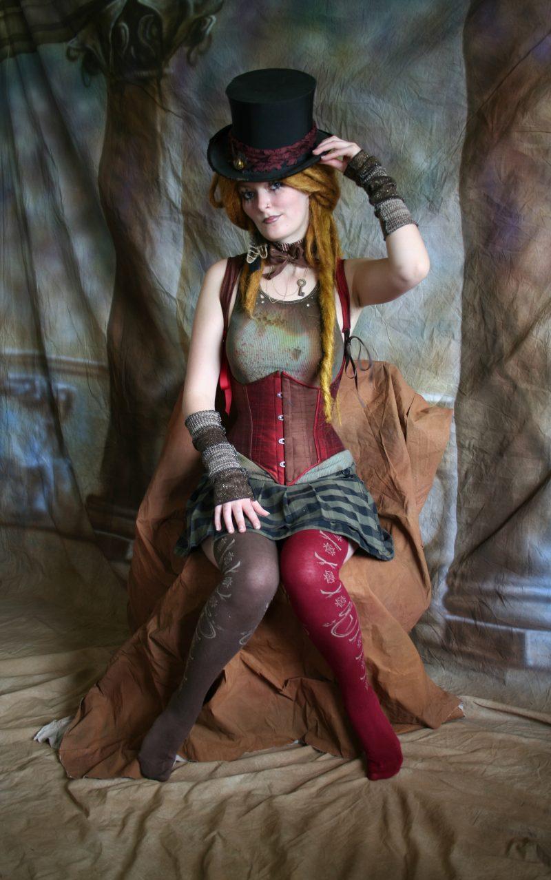 Steampunk Kleidung Farben