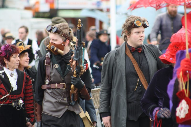 Steampunk Kleidung Outfit