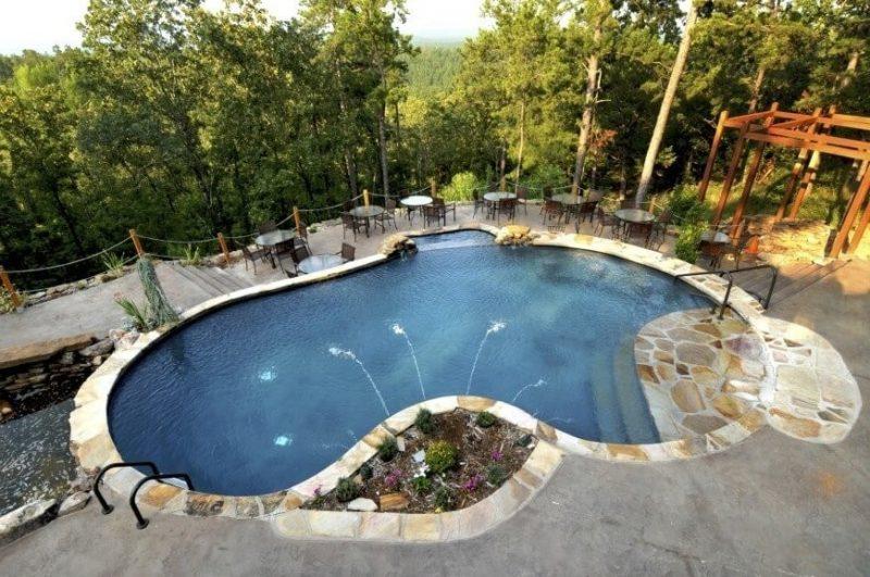 Swimmingpool Beton
