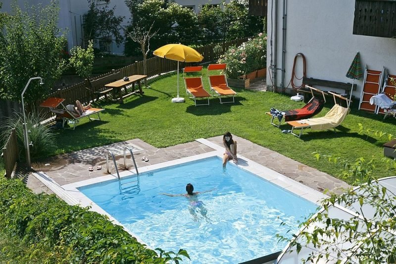 Swimmingpool Garten