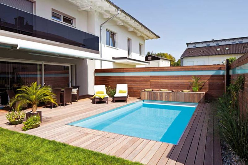 swimmingpool 33 erstaunliche ideen f r kleine oase im garten garten pooldesign zenideen. Black Bedroom Furniture Sets. Home Design Ideas