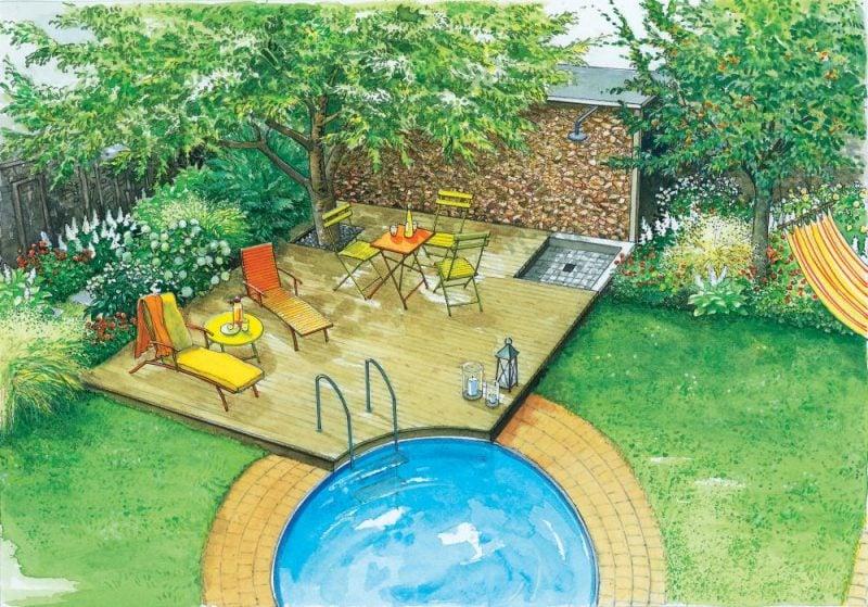Swimmingpool kleine Oase