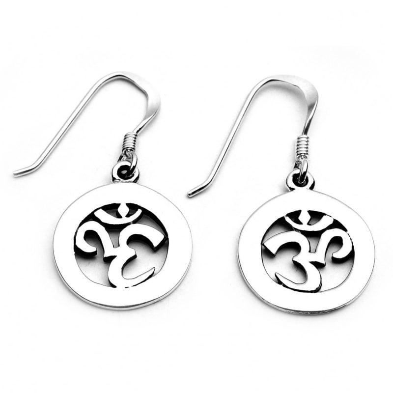 Symbol für Stärke Om Ohrringe